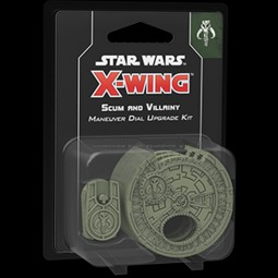 X-Wing - 2. Edition - Scum and Villainy Maneuver Dial Upgrade Kit