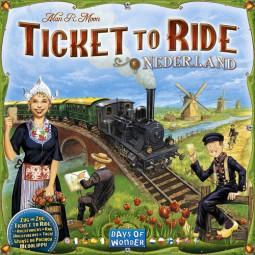 Zug um Zug - Niederlande Spielplan