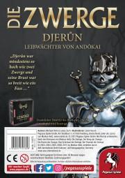 Die Zwerge: Charakterpack Djerun (deutsch)
